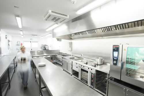 Kitchen ventilation regulations